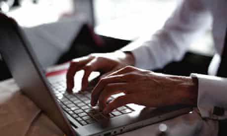 Blogging in a restaurant