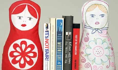 Homemade bookends