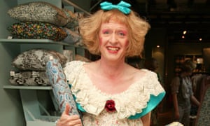 Grayson Perry at the Prints Charming exhibition at Liberty