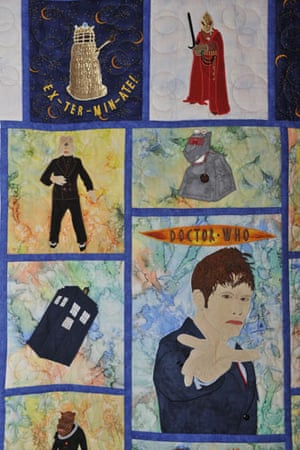 Festival of Quilts: Doctor Who