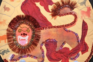 Festival of Quilts: Lion