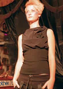 Junky Styling's fly top on the catwalk