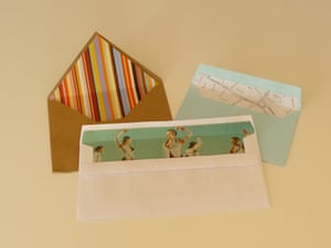 A range of envelope liners
