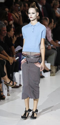 Marc Jacobs gallery: A model wears Marc Jacobs Spring 2010 collection