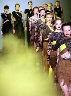 Rodarte show: Rodarte show Spring 2010 collection runway shot