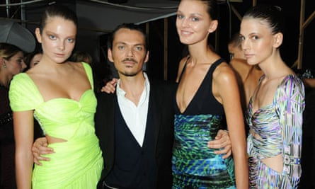 Matthew Williamson and models