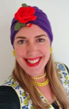 Mary Jane Baxter in a turban