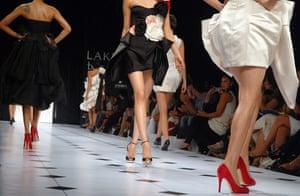 India fashion week: Gauri and Nainika
