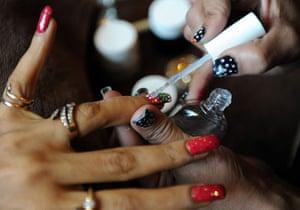 India fashion week: Nails at Lakme fashion week
