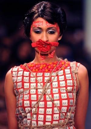 India fashion week: Aki Narula