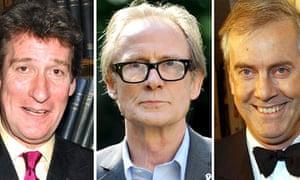 Jeremy Paxman, Bill Nighy and Gyles Brandreth