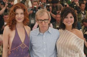 Short men: Woody Allen at Cannes for Hollywood Ending, 2002