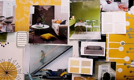 How To Make A Moodboard Tips For Interior Design Life And Style The Guardian