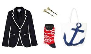Nautical fashion pieces
