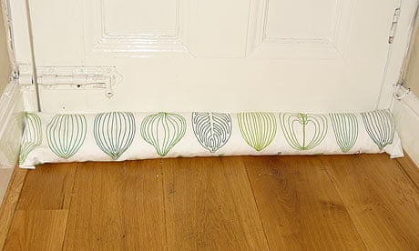 How to make a draught excluder | Life and style | The Guardian
