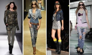 Denim from Balmain, D&G, Dsquared2 and Just Cavalli