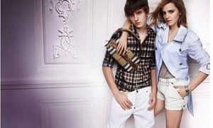 Emma Watson and her brother in Burberry's ad campaign