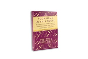 Christmas gifts grinches: Christmas gift guide grinches personalised Pride & Prejudice