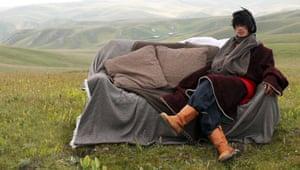 Drylands fashion: Drylands fashion: Male model on sofa Norlha