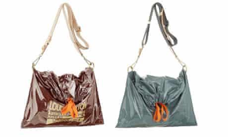 Louis Vuitton trash bag