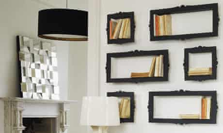 Baroque-style bookcases