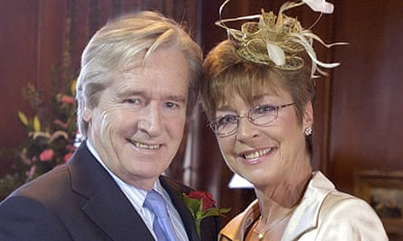 William Roache as Ken Barlow with Deirdre (Anne Kirkbride)