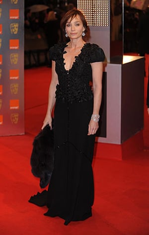The Baftas red carpet: Bafta Film Awards, Royal Opera House, London. 21st February 2010.