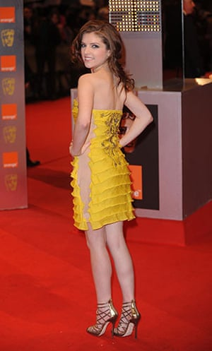 The Baftas red carpet: Anna Kendrick