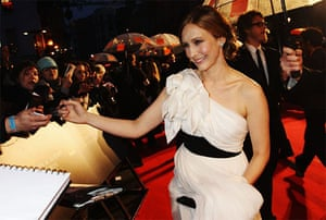 The Baftas red carpet: Vera Farmiga at the Baftas 2010