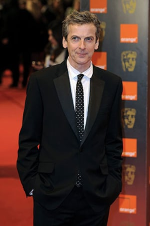 The Baftas red carpet: Peter Capaldi at the Baftas 2010