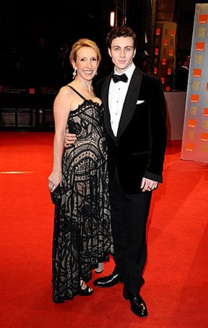 The Baftas red carpet: Sam Taylor Wood at the Baftas 2010