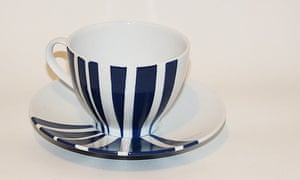 Perri Lewis's cup and saucer