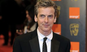 Actor Peter Capaldi arrives at the BAFTAs