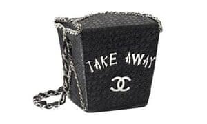 Chanel's takeaway bag