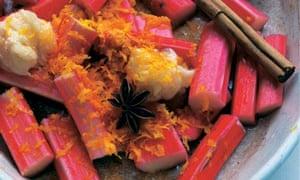 Nigel Slater's rhubarb