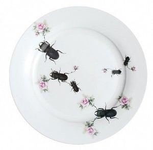 Handmade Valentine's: Decoupage vintage plate