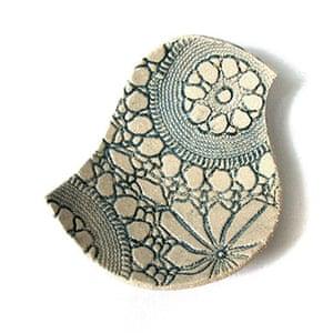Handmade Valentine's: Handmade bird bowl