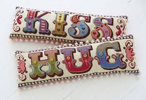 Handmade Valentine's: Cross-stitch kits