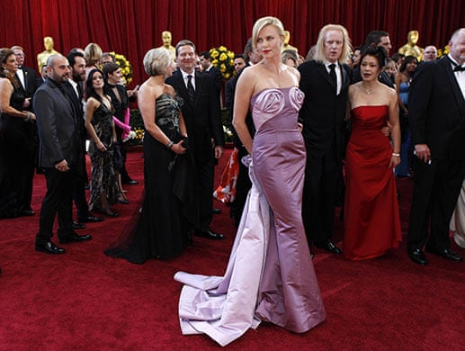 Oscars Fashion On The Red Carpet Fashion The Guardian,Wedding Dresses With Deep V Neck