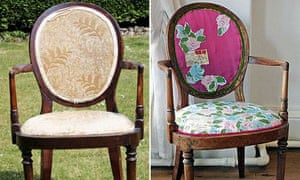 how to reupholster a chair life and style the guardian