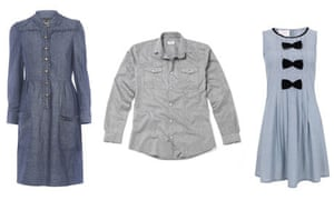 Shirt dress by Marc by Marc Jacobs, Shirt by People Tree and Dress by Elizabeth Lau