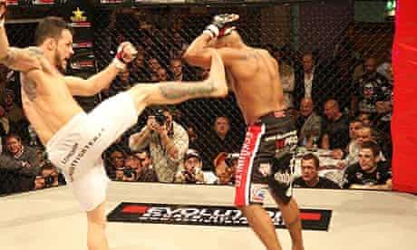 MMA, aka cage fighting
