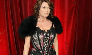 Vicky Entwhistle at the British Soap Awards 2010
