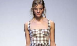 Christopher Kane collection at London Fashion Week