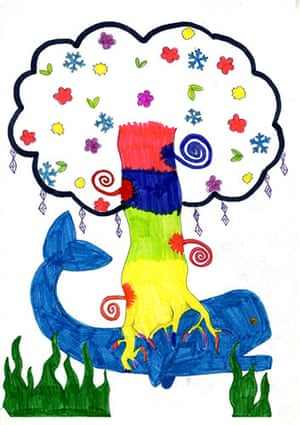 Fantasy tree drawings: Fantasy tree drawing competition