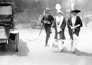 Ascot fashion: Royal Ascot in 1914