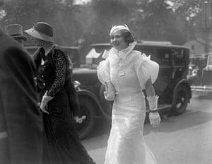 Ascot fashion: Royal Ascot in 1933