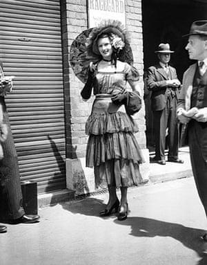 Ascot fashion: Royal Ascot in 1948