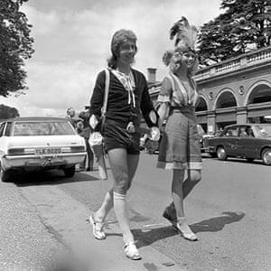 Ascot fashion: Royal Ascot in 1971