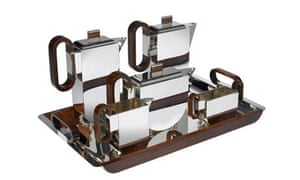 Father's day gifts: Art deco teaset by Asprey